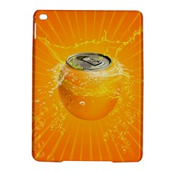 Orange Drink Splash Poster Ipad Air 2 Hardshell Cases by Sapixe