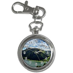 Panoramic Nature Mountain Water Key Chain Watches