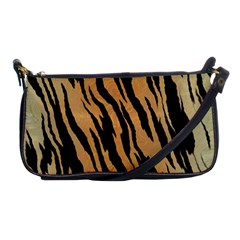 Tiger Animal Print A Completely Seamless Tile Able Background Design Pattern Shoulder Clutch Bag