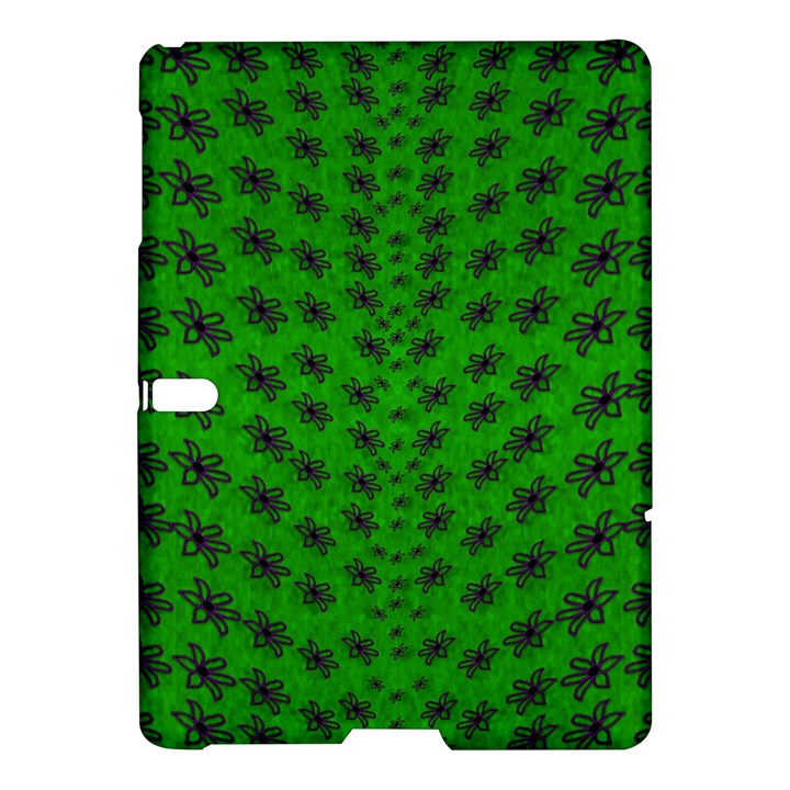 Forest Flowers In The Green Soft Ornate Nature Samsung Galaxy Tab S (10.5 ) Hardshell Case
