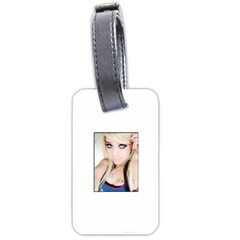 Testgirl3 Luggage Tag (one Side) by testgirlss