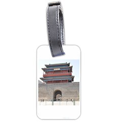 Bj Design Luggage Tag (one Side) by rainbowberry