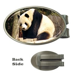 Giant Panda National Zoo Money Clip (oval) by rainbowberry