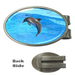 Jumping Dolphin Money Clip (oval) by dropshipcnnet