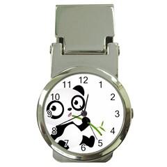 Panda3 Money Clip Watch