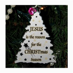 Jesus is the Reason Single-sided Large Glasses Cleaning Cloth by tammystotesandtreasures