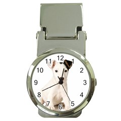 55190649 Chrome Money Clip With Watch