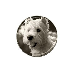 Westie Puppy Golf Ball Marker (for Hat Clip) by Koalasandkangasplus